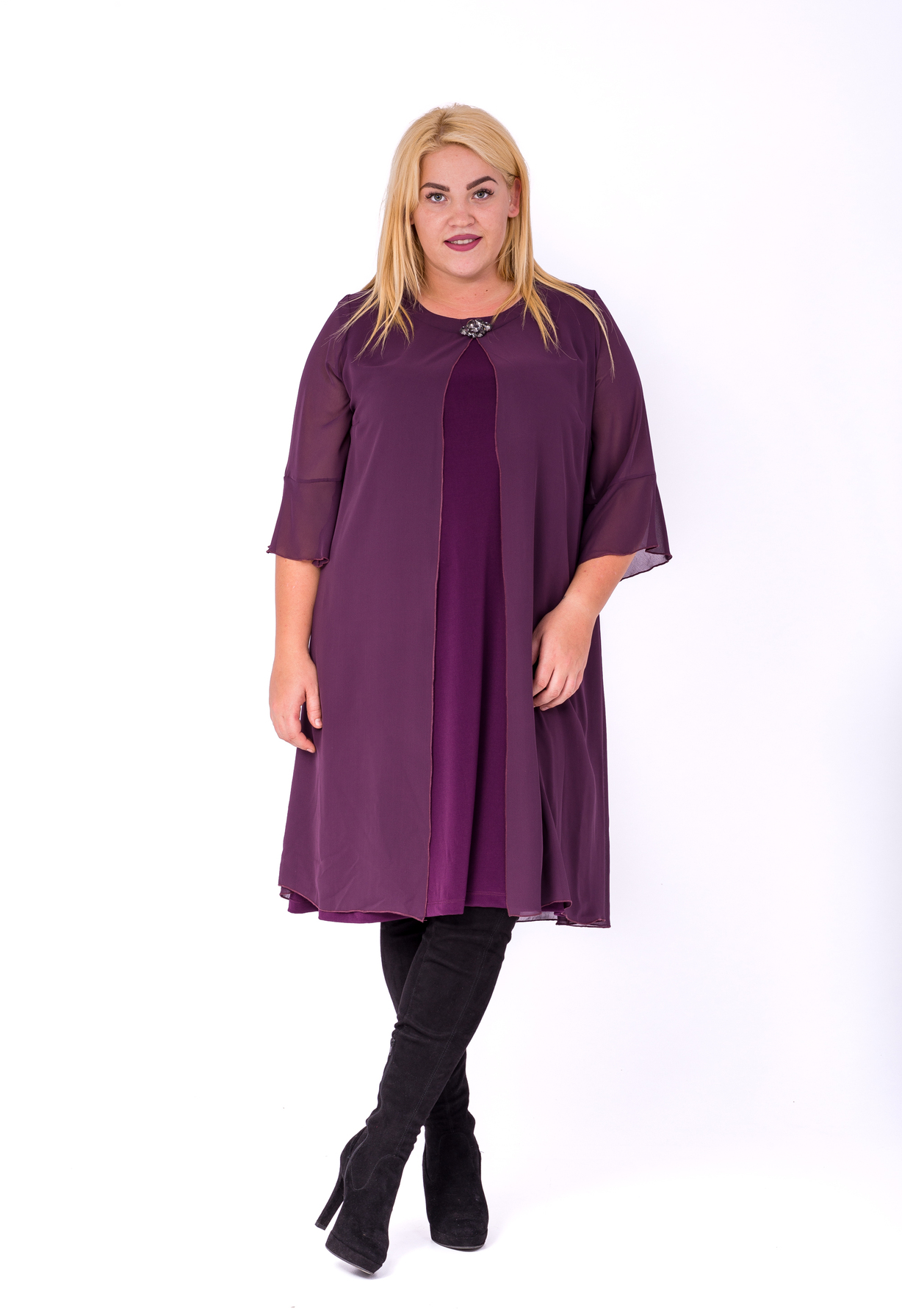 2d4aad1a1a Honey Fashion :: Alap ruha muszlin felsővel Ruha Ruha