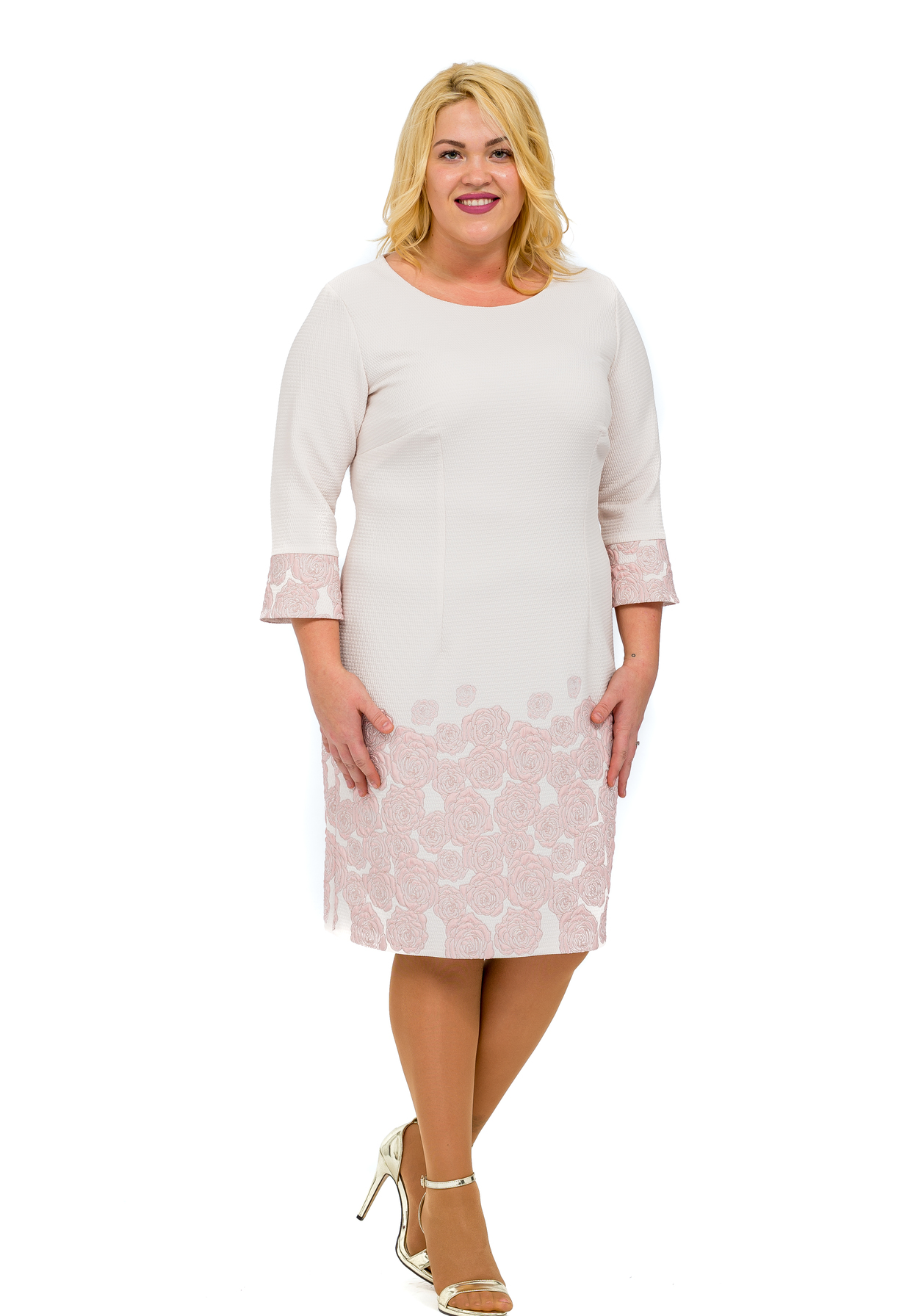 6138ba3f10 Honey Fashion :: Bordür rózsás ruha Ruha Ruha